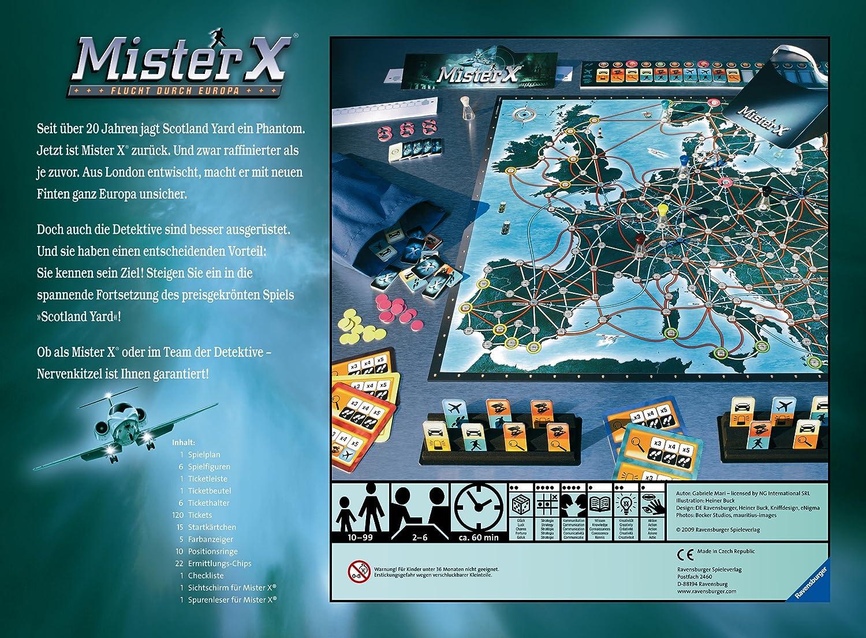 Ravensburger 26507 - Mister X, Flucht