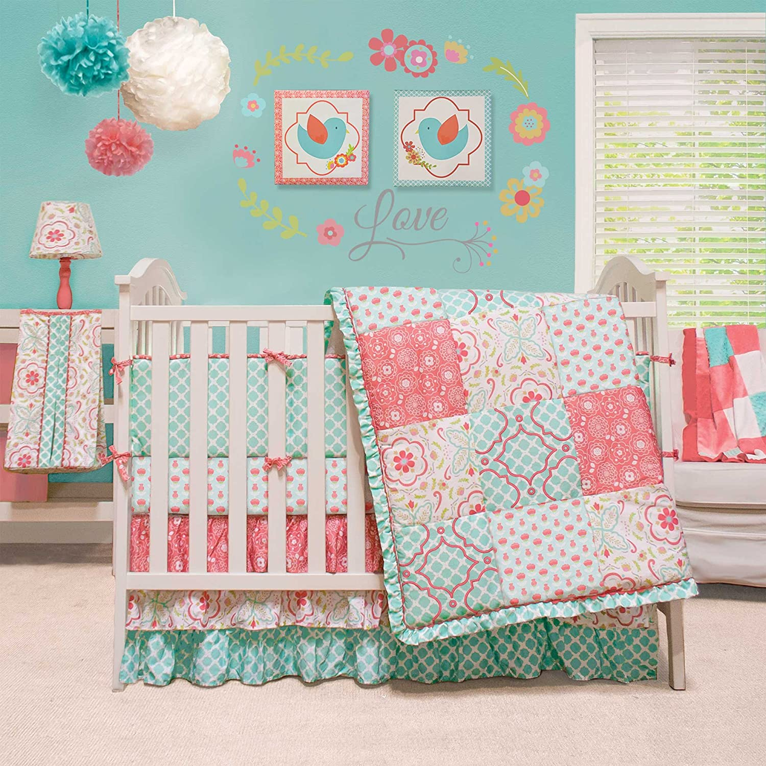 The Peanut Shell Mila Baby Bedding
