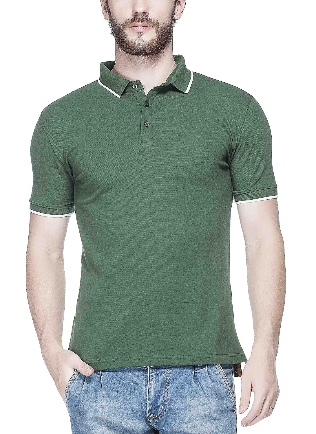 Tinted Men's Matty Polo T-Shirt By Amazon @ Rs.625