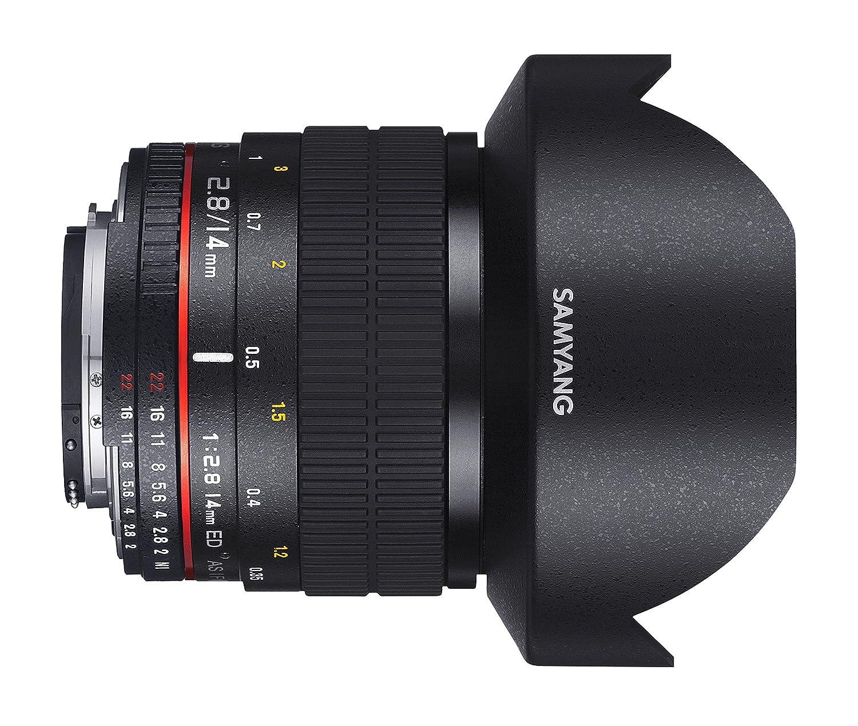 samyang 14mm f 2 8 if ed umc ultra wide angle lens for