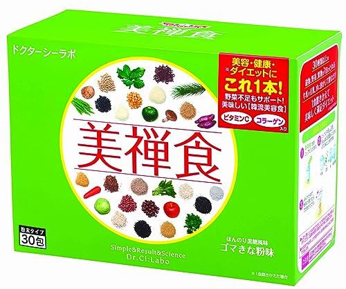 低卡路里纯植物代餐,日本美禅食瘦身减肥代餐