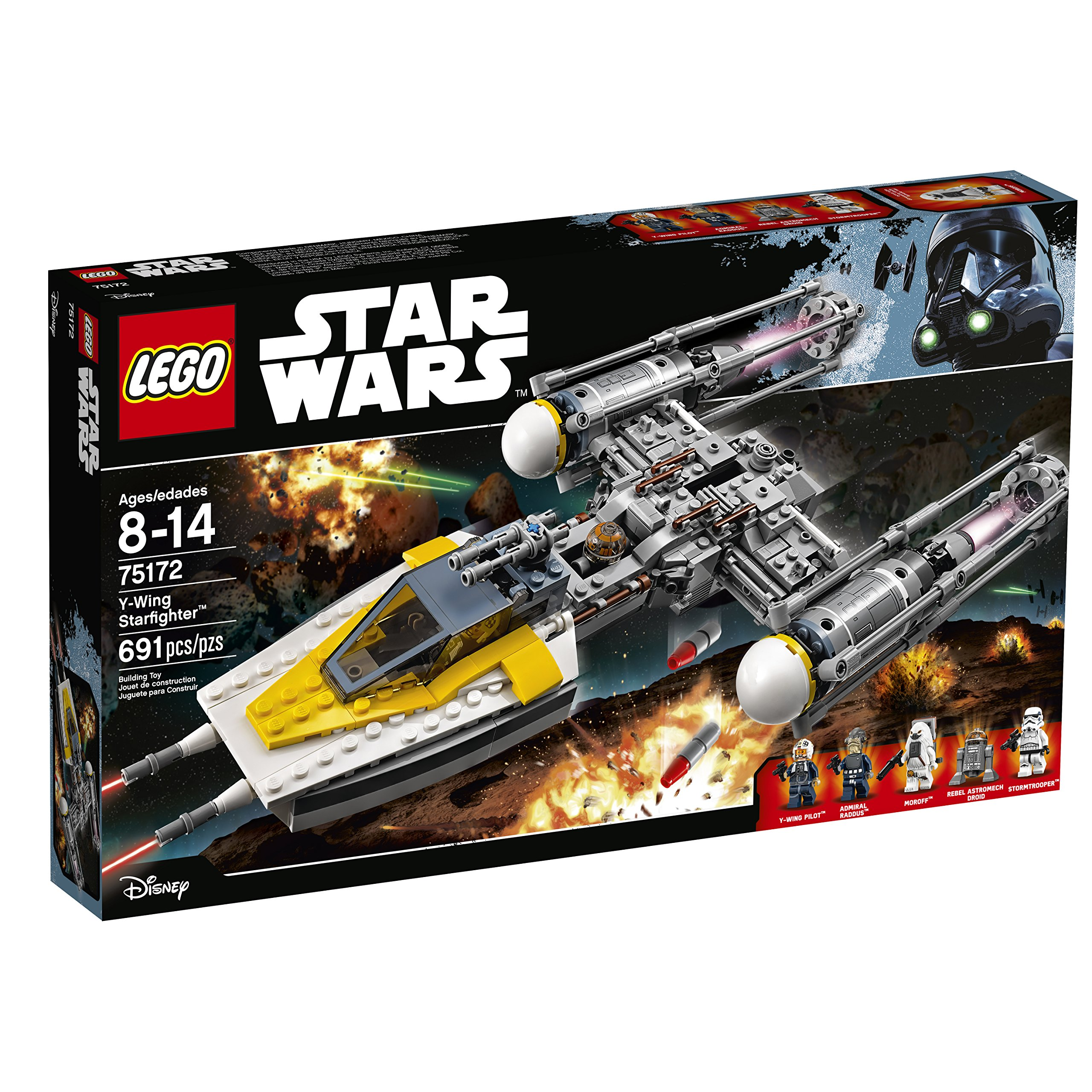 Star Wars Lego Y Wing Starfighter
