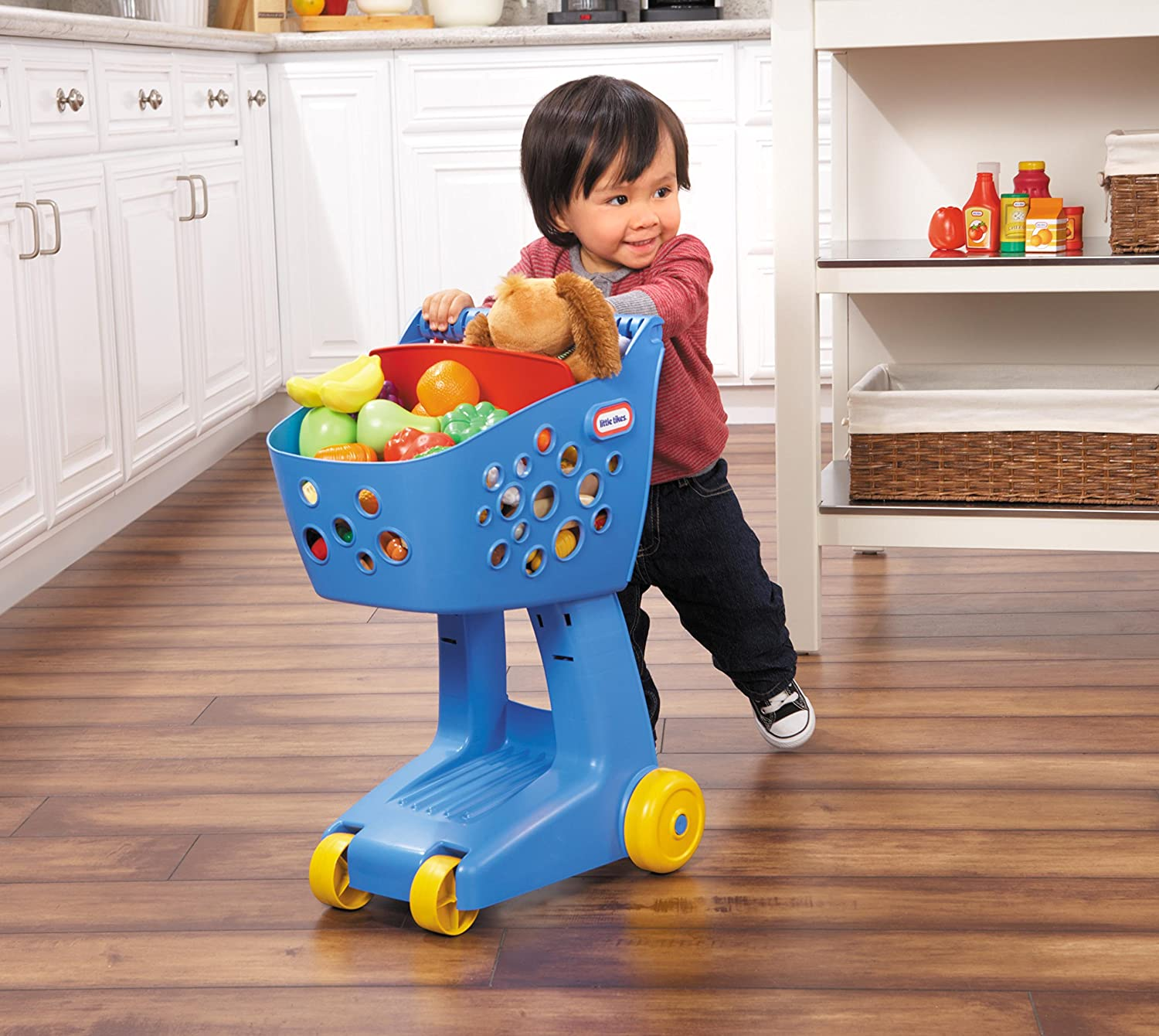 An Image of Little Tikes Lil' Shopper - Blue