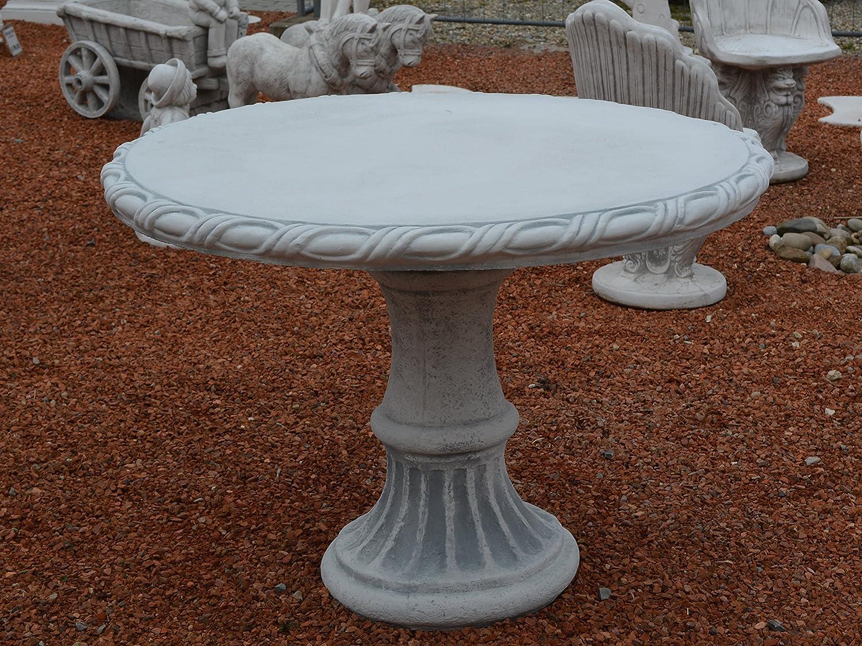 gartenm bel gartentisch tisch aus steinguss frostfest g nstig online kaufen. Black Bedroom Furniture Sets. Home Design Ideas