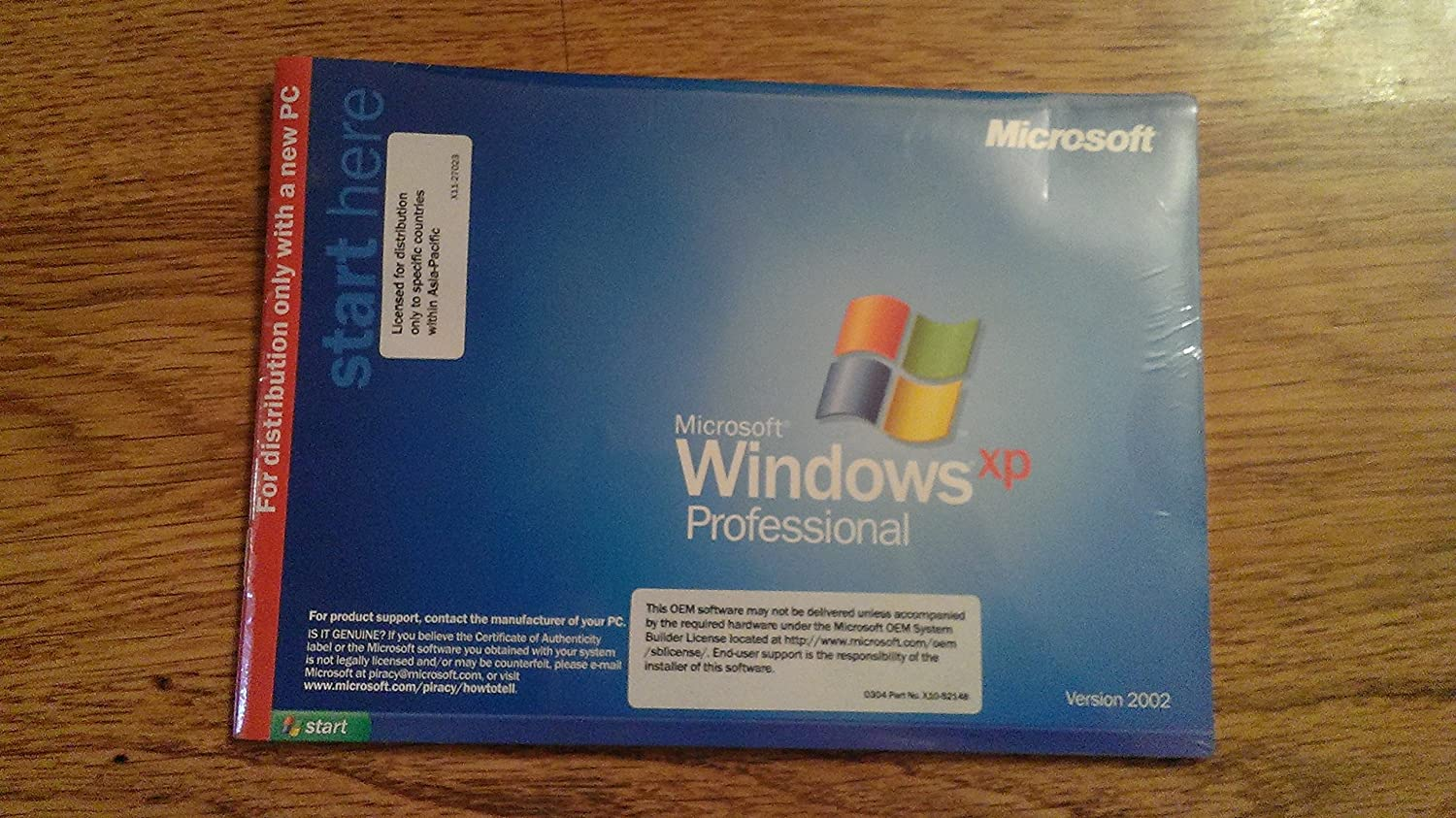 Dell Windows Xp Professional Version 2002