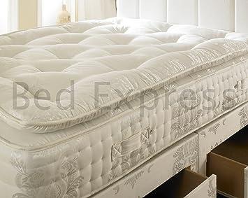 Luxury 2000 Pocket Sprung Pillow Top Orthopaedic Mattress (5ft King Size)