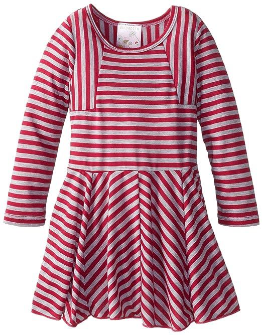 Elisabeth-Little-Girls-Stripe-Skater-Dress