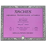 Arches Watercolor Paper Block, Hot Press, 11