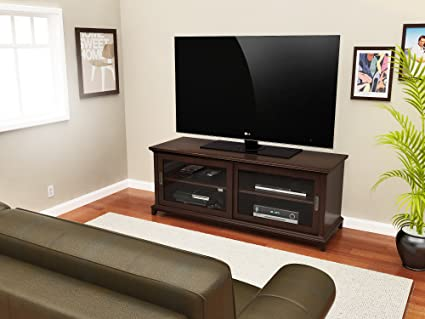 Z-Line Designs Kearney TV Stand, Brown