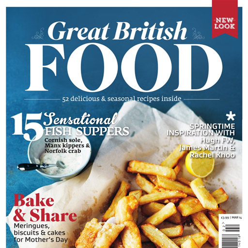 Great British Food - gourmet cuisine produced