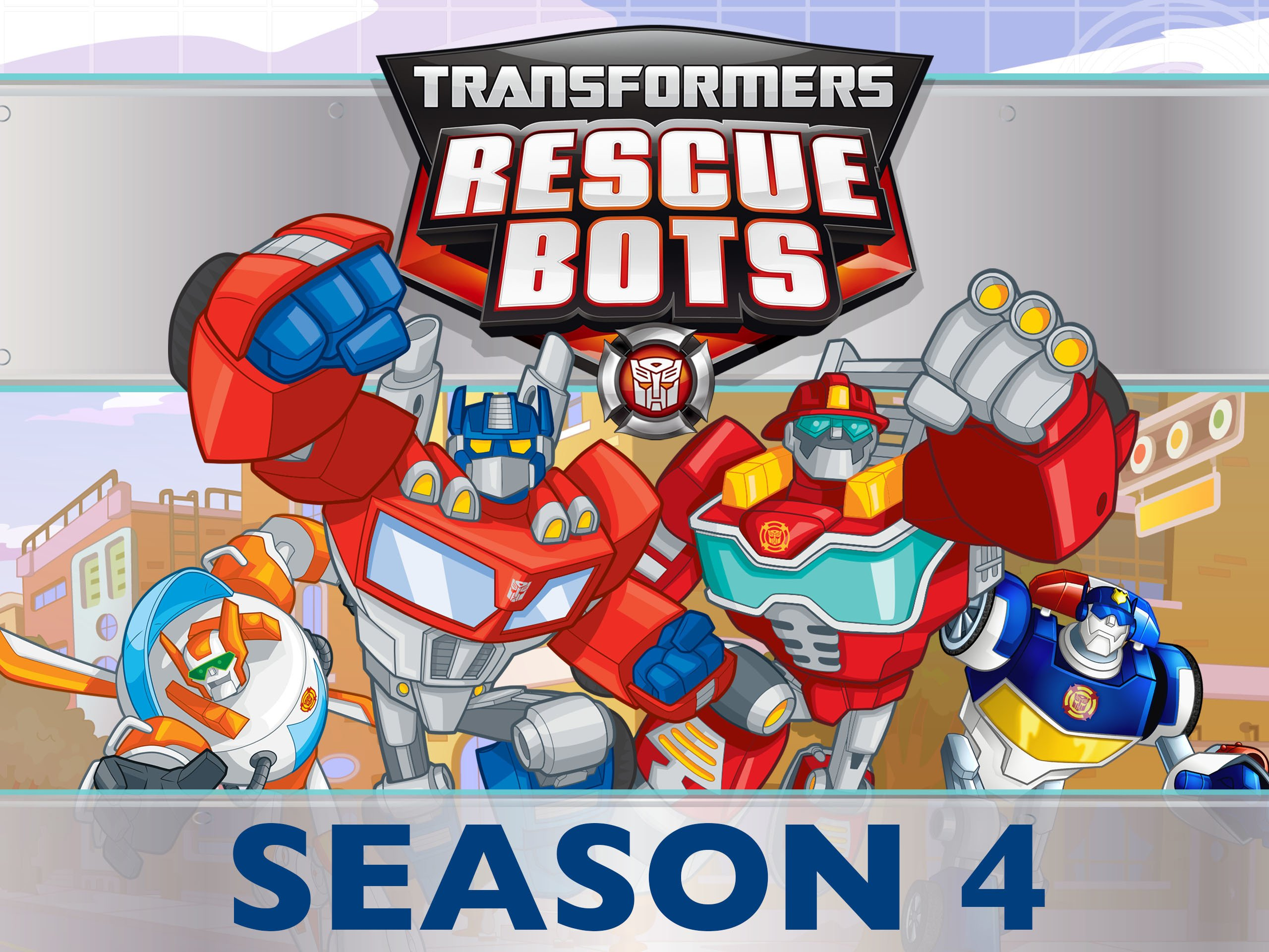 Transformers Rescue Bots Season 4 on Amazon Prime Video UK