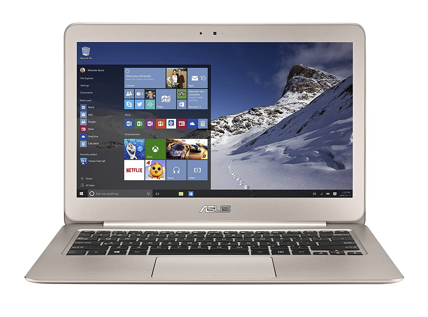 Amazon - ASUS Zenbook Intel Core i5 2.2GHz 13.3-inch Laptop - $749
