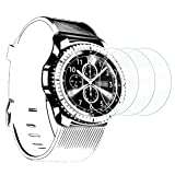 Ailun Screen Protector for Gear S3 3Pack Tempered Glass for Gear S3 Smartwatch 9H Hardness Ultra Clear Anti Scratch Siania Retail Package (Color: Clear)