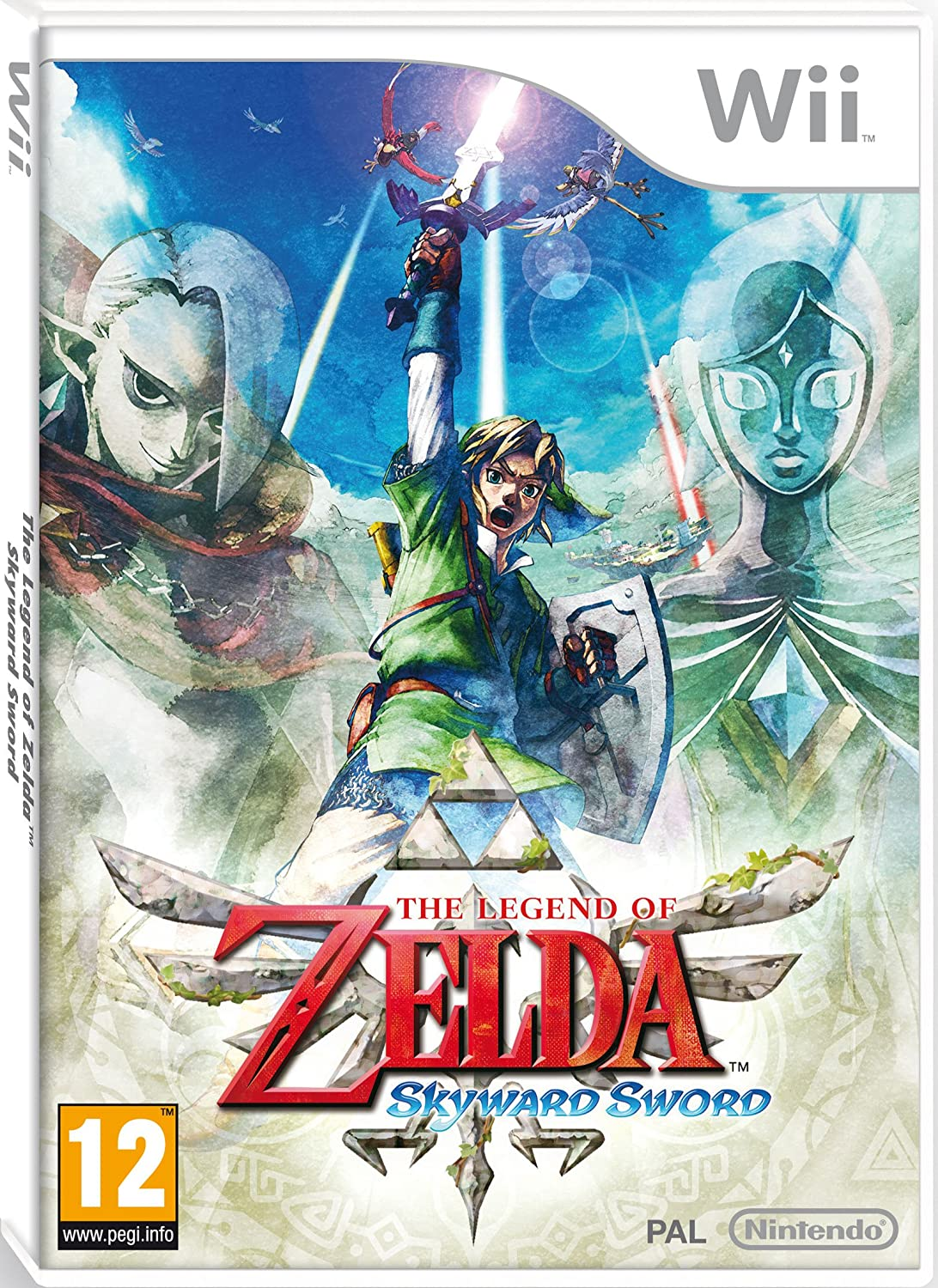 The Legend of Zelda Skyward Sword - Wii |