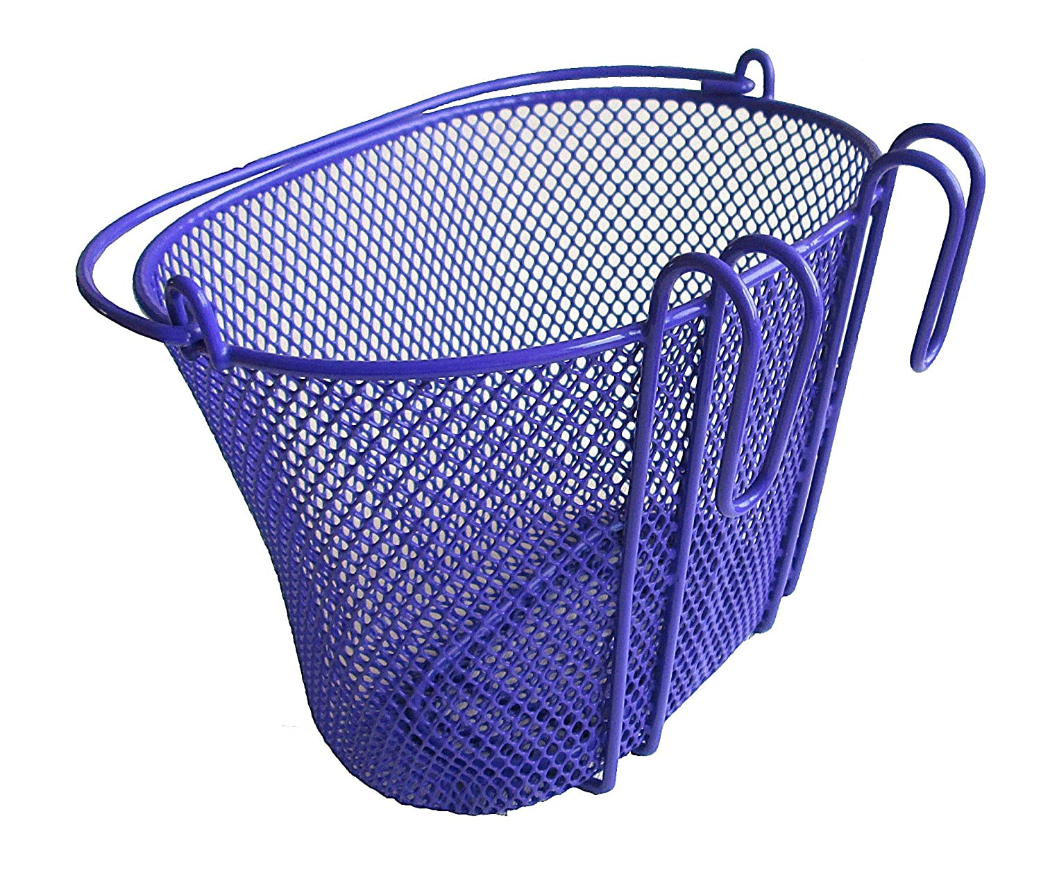 basket bike baskets with hook purple front removable children wire mesh small ebay. Black Bedroom Furniture Sets. Home Design Ideas