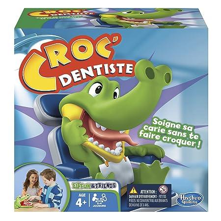 Hasbro - B04081010 - Jeu D'action Et De Réflexe - Croc Dentiste