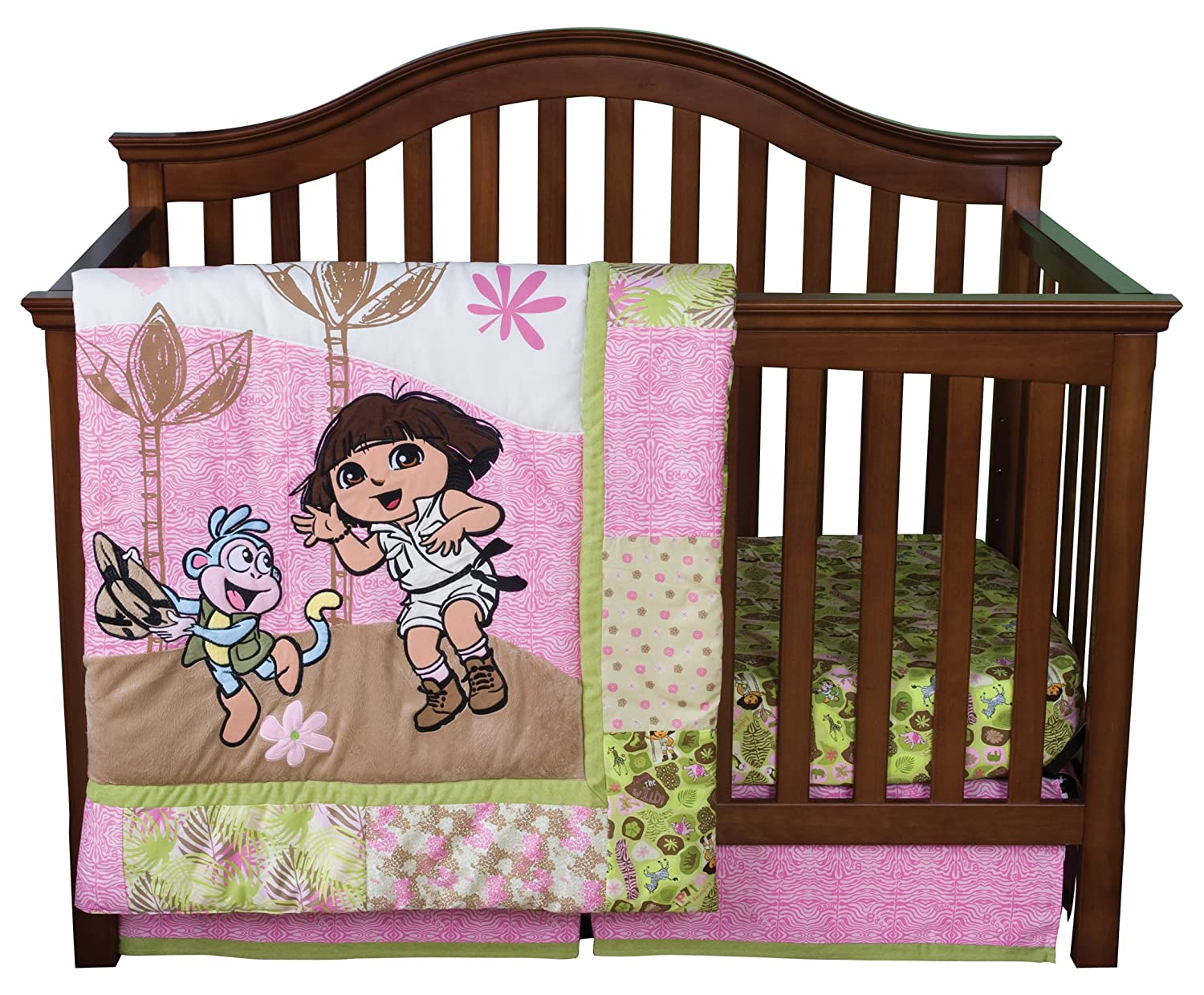 Dora the Explorer Crib Bedding