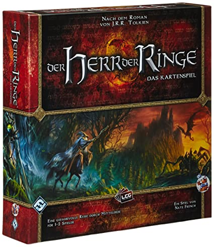 Heidelberger Spieleverlag - HE339 - Jeu de Société - Der Herr Der Ringe - Das Kartenspiel - Langue Allemande
