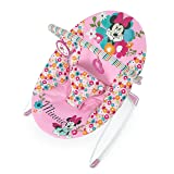 Disney Baby Minnie Mouse Perfect Vibrating Bouncer, Pink (Color: Pink)