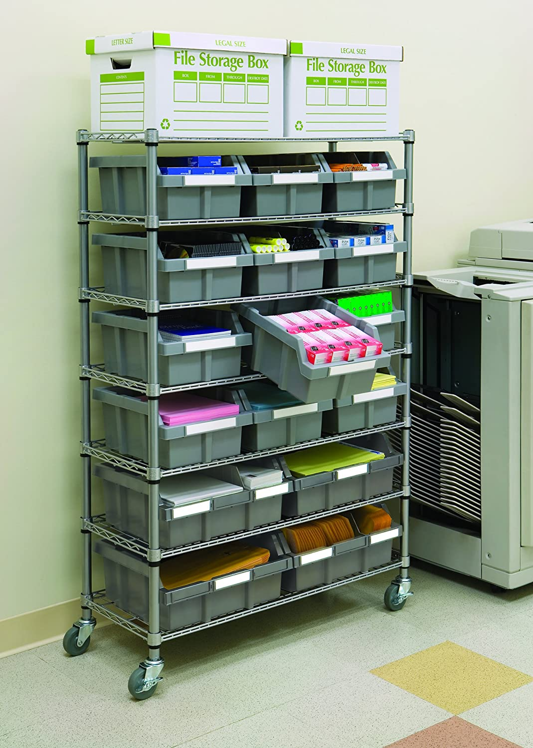 Commercial Kitchen Rolling Racks