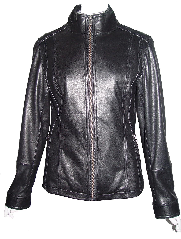 Nettailor WoHerren 4202 weich Leder neu l?ssig JackeRei?verschluss Front Schlie?ung Rei?verschluss Tasche günstig online kaufen