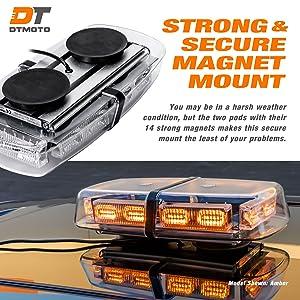 Ip66 Waterproof And Magnetic Mount 12 36 Watt Led Mini Light