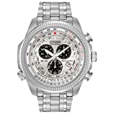 Citizen Men's Eco-Drive Chronograph Watch with Perpetual Calendar and Date, BL5400-52A (Color: Stainless Steel/Silver, Tamaño: NO SIZE)