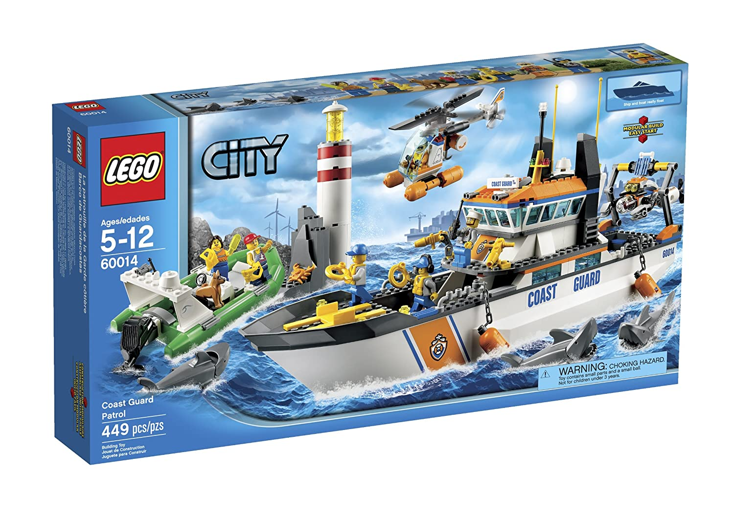 LEGO Coast Guard Patrol