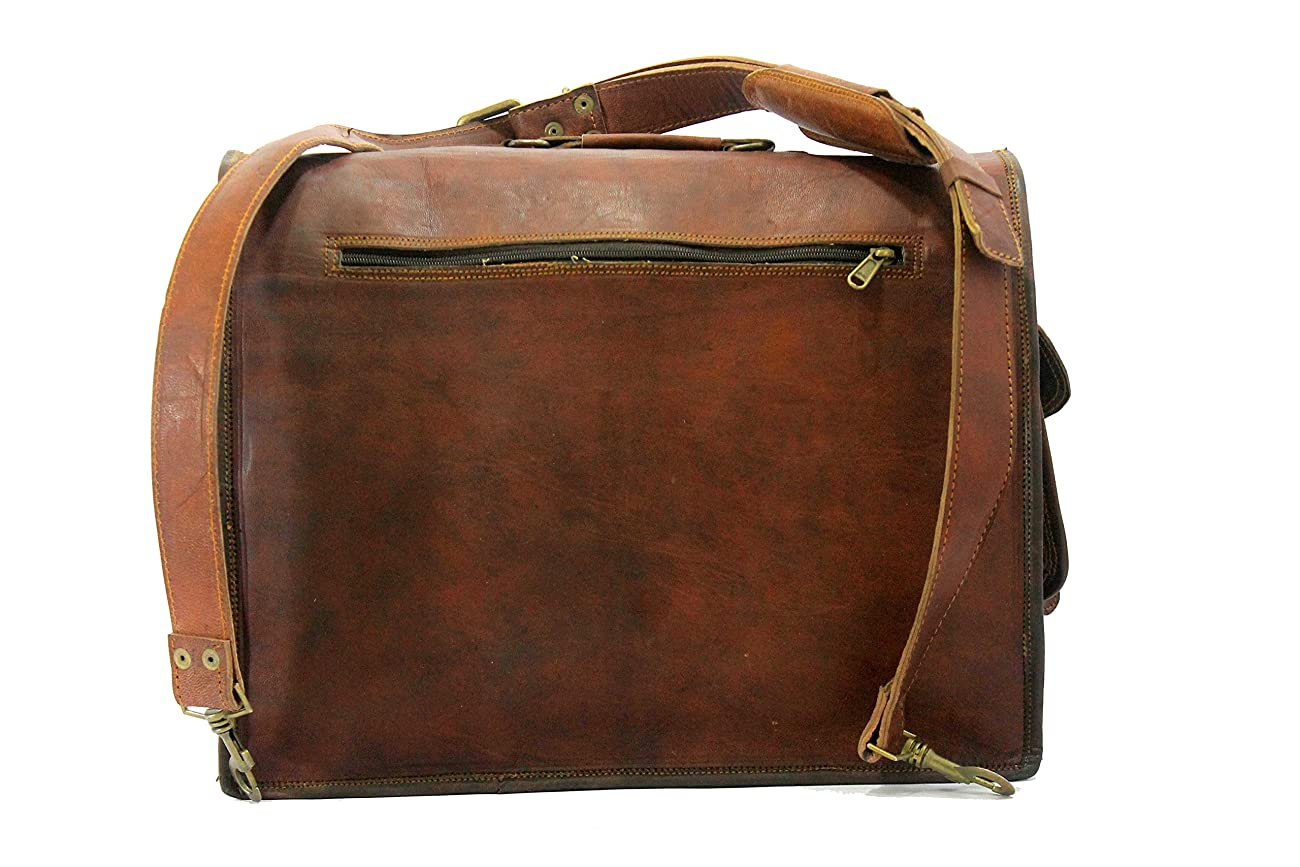 Handmade_ world leather messenger bags for men women mens briefcase laptop bag best computer shoulder satchel bag 5