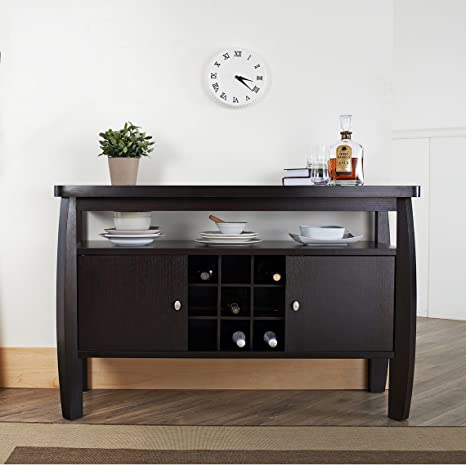 Metro Shop Furniture of America Zarina Dark Espresso Buffet Table-Dark Espresso