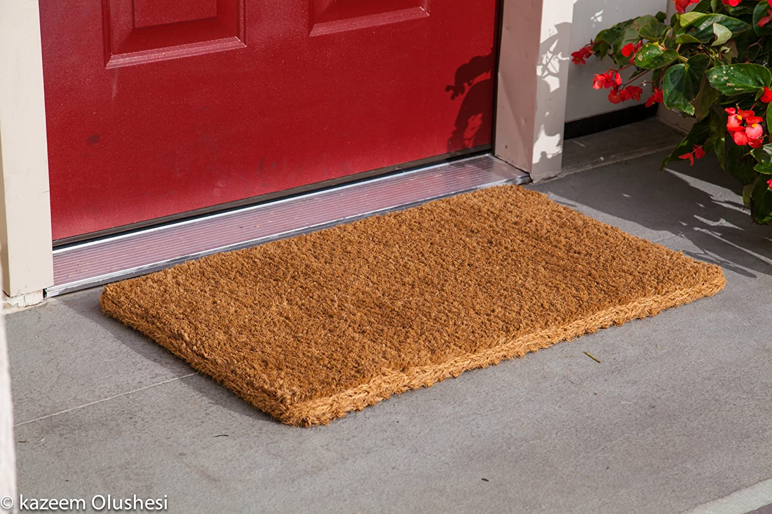 Kempf Natural Coco Coir Doormat, 18 by 30 by 1-Inch , New ...