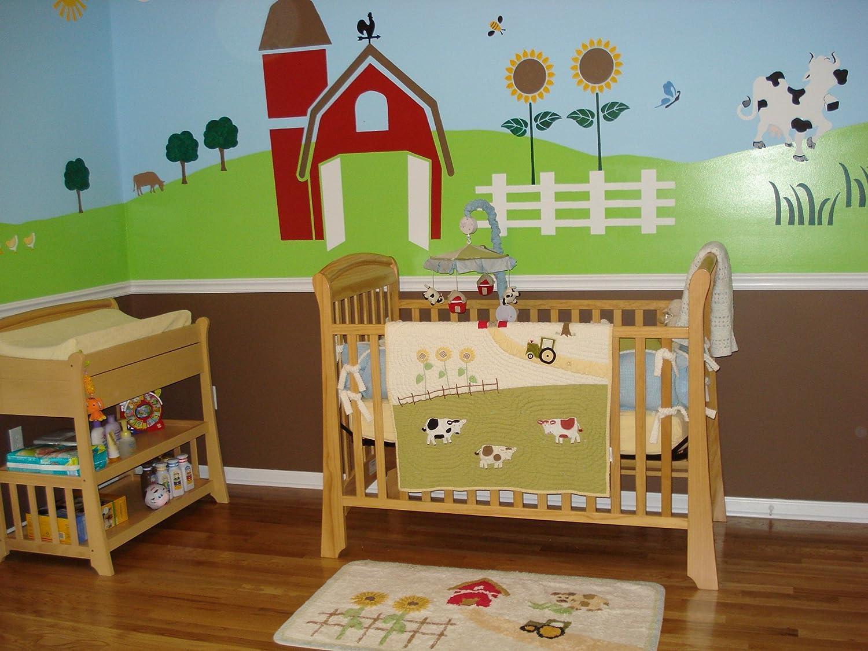 Baby Farm Animals Nursery | Wallpapers Gallery