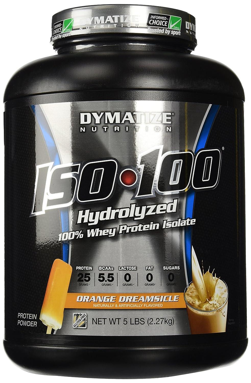 Dymatize ISO 100 Hydrolyzed - 5 lb Orange Dreamsicle
