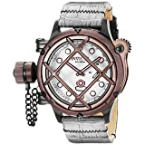 Invicta Men's 16365 Russian Diver Analog Display Mechanical Hand Wind Grey Watch (Color: white)