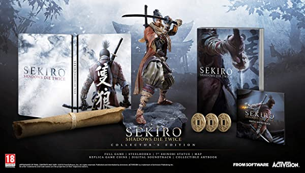 Sekiro Shadows Die Twice Collector's Edition (PS4)