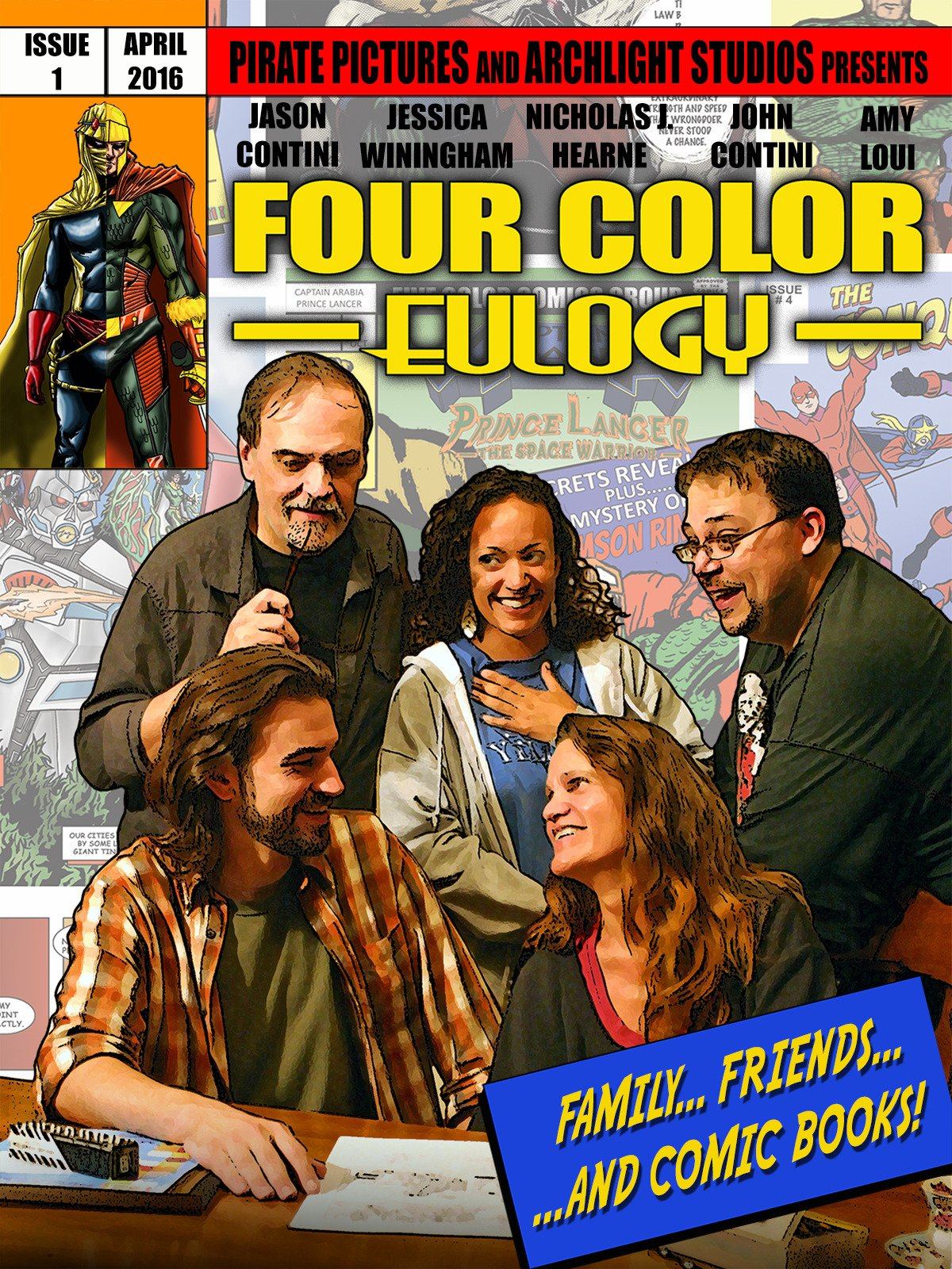 Four Color Eulogy on Amazon Prime Instant Video UK