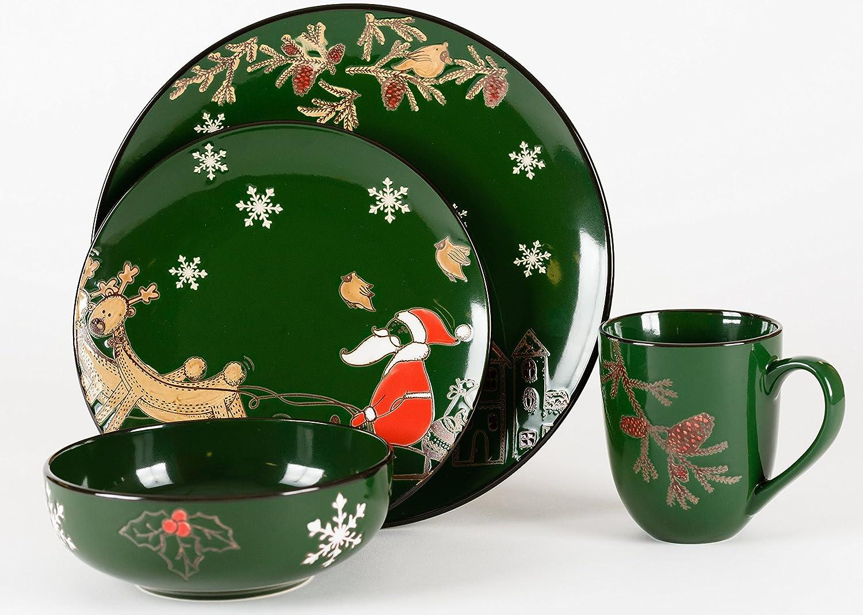 Santa Claus Dinnerware Sets Christmas Wikii