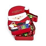 Godiva Chocolatier Christmas Santa Gift Box with 8pcs Individually Wrapped Chocolate Truffles (Tamaño: 8 Piece)