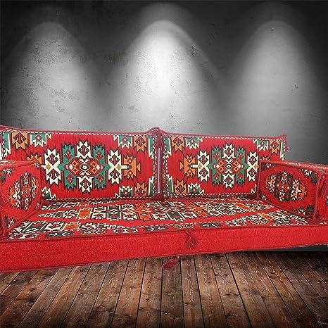 Sofá de piso | Asiento en el suelo | Sofá de esquina | Sofá para sala de estar | Cojines de piso | Sofa cama | Asientos árabes