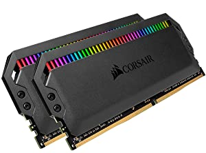 Corsair Dominator Platinum RGB 16GB (2x8GB) DDR4 4266 (PC4-34100) C19 1.4V Desktop Memory (Color: RGB, Tamaño: 16GB (2x8GB))