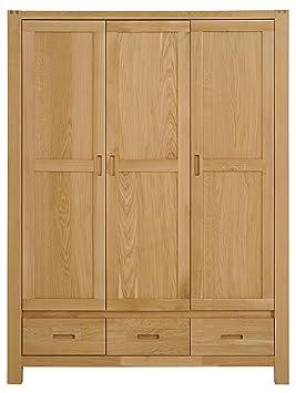 Keo 3603AR3P ETHAN CHAMBRE Armoire avec 3 portes/3 tiroirs Chêne/Panneaux E1  139,7 x 58 x 192 cm