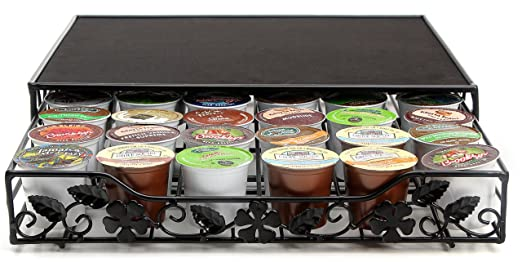 Stylish and Sturdy Single Serve Coffee Storage Drawer