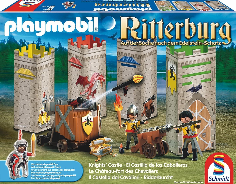 Schmidt Spiele  Playmobil, Ritterburg, Auf der Suche nach dem Edelsteinschatz günstig