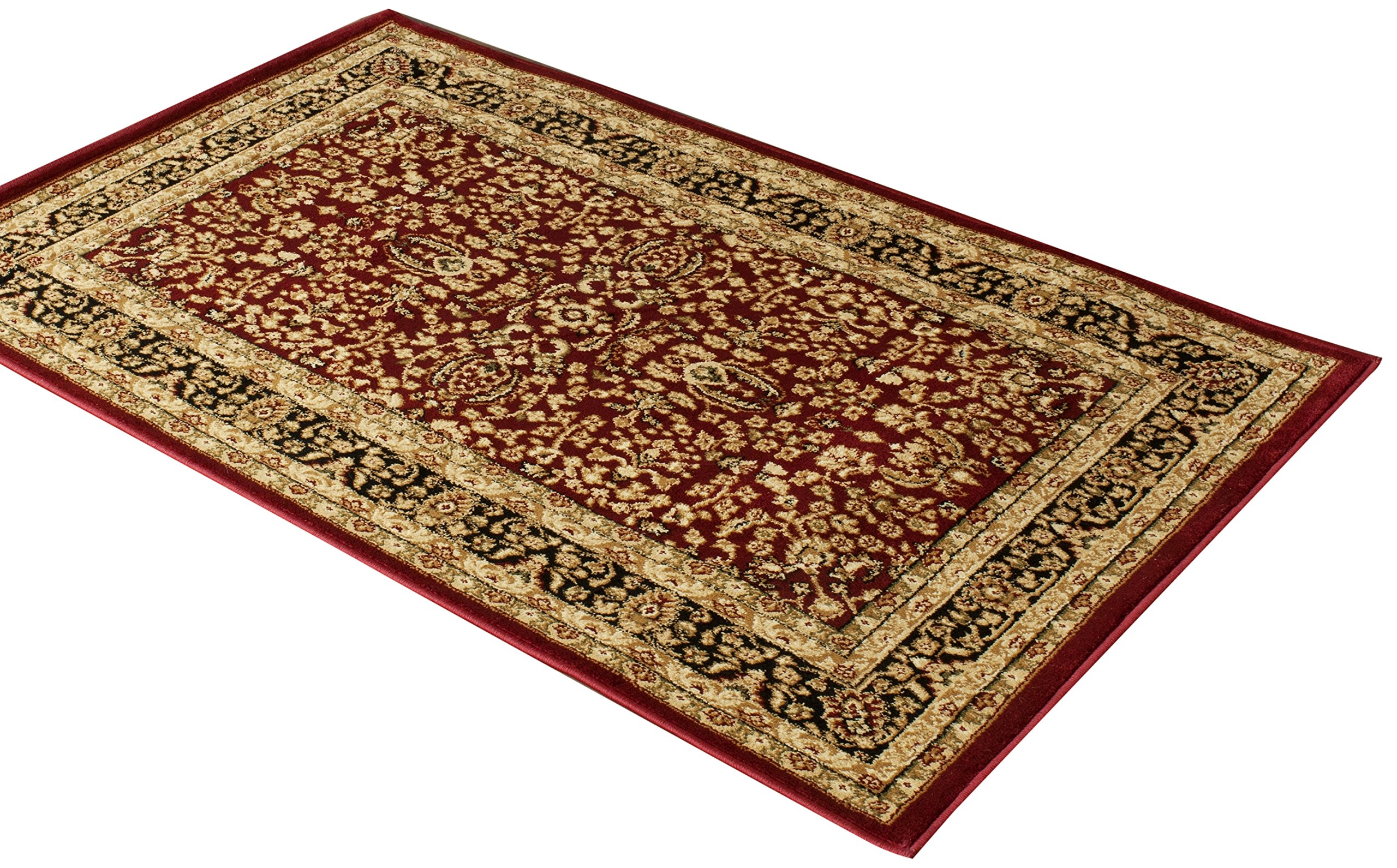 Safavieh Lyndhurst Collection LNH214A Red And Black Runner