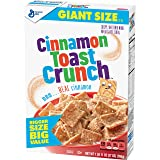 Cinnamon Toast Crunch Crispy Sweetened Whole Wheat and Rice Cereal, 27 Ounce