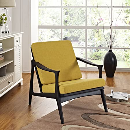 Pace Armchair, Black Yellow