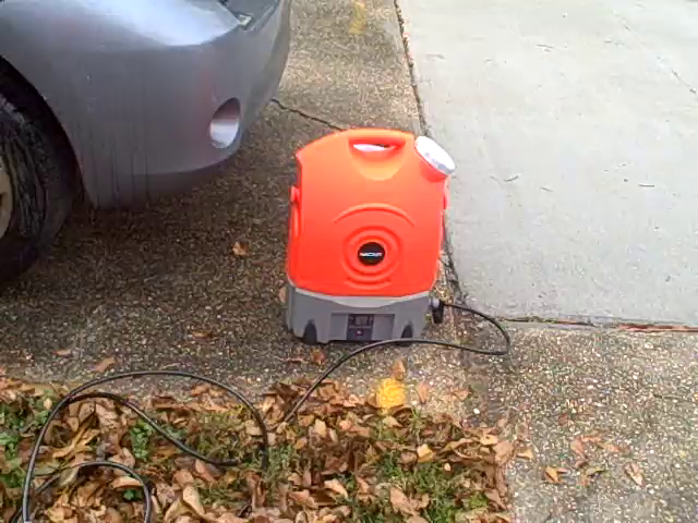 Customer reviews ivation multipurpose electric portable smart washer water tank w for Portable watering tanks for gardens