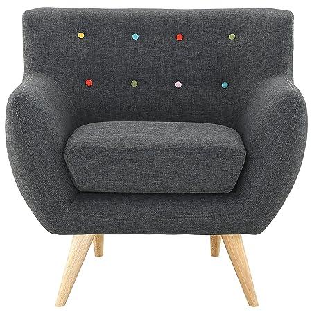 LexMod Remark Armchair, Gray