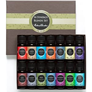 Synergy Blends Therapeutic-grade Essential Oils width=