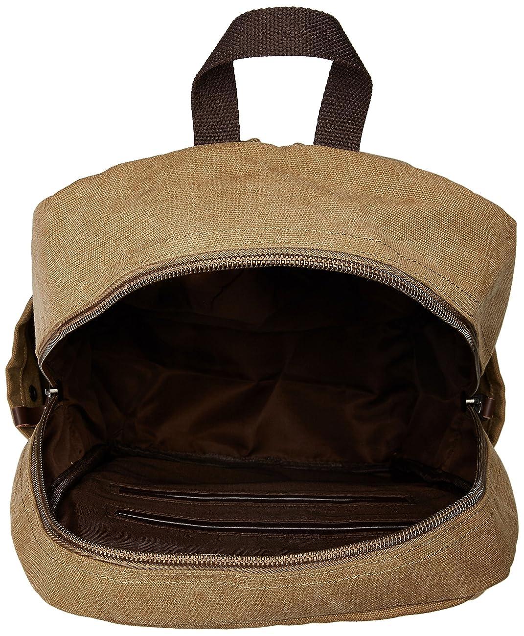 Zebella Vintage Canvas Backpack for Laptop School Rucksack Weekender Daypack Bag 2